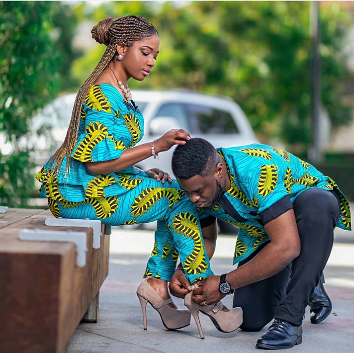Who said African men are not romantic 😍