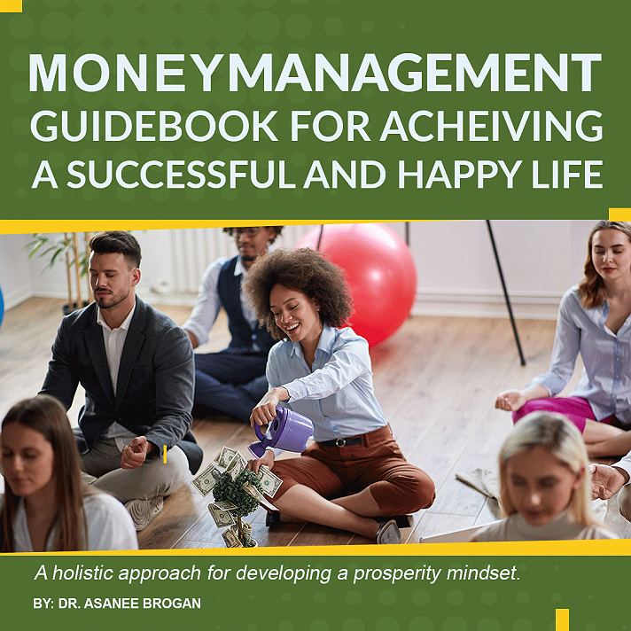 Money Management Guidebook for Achieving a Successful and Happy LifeDo you live paycheck to paycheck? Do you have a decentincome but still find yourself in debt or broke? Do you find it hard to buildor grow wealth?If you answered yes to any of these questions, don't bediscouraged. Many financially-strained individuals struggle with these sameissues. This is because they don't take the time to gain a deeper understandingof themselves in relation to their finances. They also fail to develop asystematic approach for achieving financial success.Successful money management starts with a holisticunderstanding of self. It takes more than creating a budget or paying off debtto develop sustainable money management skills for building long-term wealth.Enjoying a successful money management journey requires you to go deep withinyourself to understand your beliefs about money.If you are struggling with managing your finances thisguidebook is essential. It is a vital toolkit for achieving financial successand happiness as it goes beyond practical budgeting and debt management strategies.It takes a deep dive into your emotional connection withmoney. And, it guides you through the process of uprooting and overcoming adverse generationalmoney management patterns. Then it outlines practical guidelines for helpingyou to develop healthier money management habits.This approach alsoallows you to enjoy your money management journey by showing you how toestablish satisfying and sensible reward systems. It assumes that theoverriding goal in money management is to achieve holistic well-being. In whichcase, it doesn't require you to deprive yourself of life's basic pleasures in orderto enjoy financial success and happiness.#Moneymanagement #personalfinances #debtmanagement #budgeting
