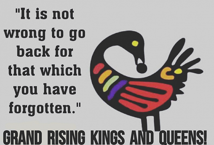Grand Rising Kings and Queens! ❤🖤💚