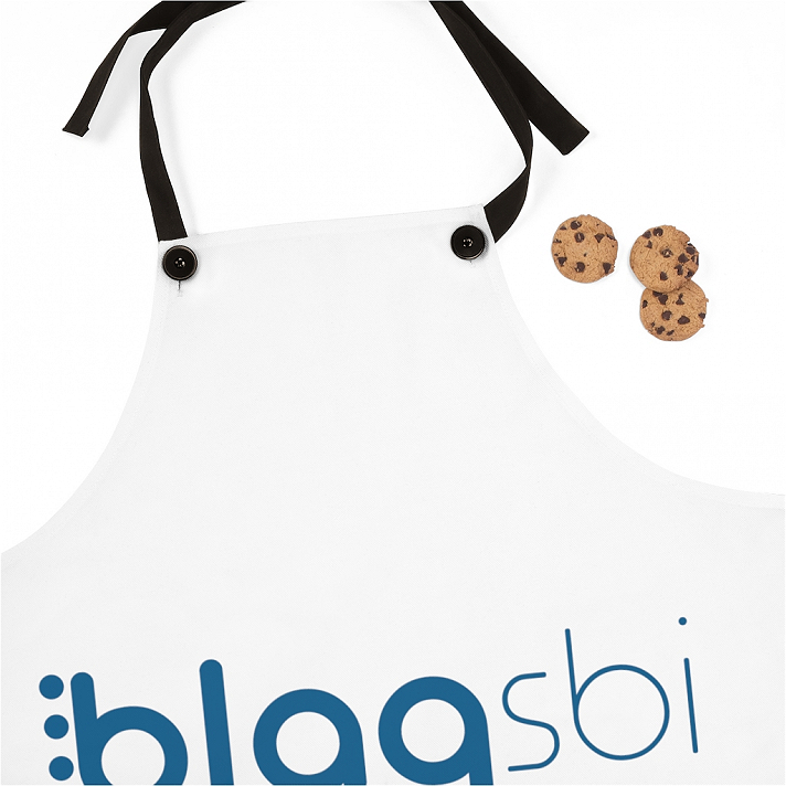 Support Blaqsbi by purchasing this item. The proceeds to this purchase will help us keep the platform running and provide funding for future improvements.Our Poly Twill Apron is the perfect cooking accessory. Lightweight, stylish and durable, this apron with your custom design and will make your customers look great during those backyard cookouts..: 100% Polyester.: One-sided print.: Black detachable twill straps
