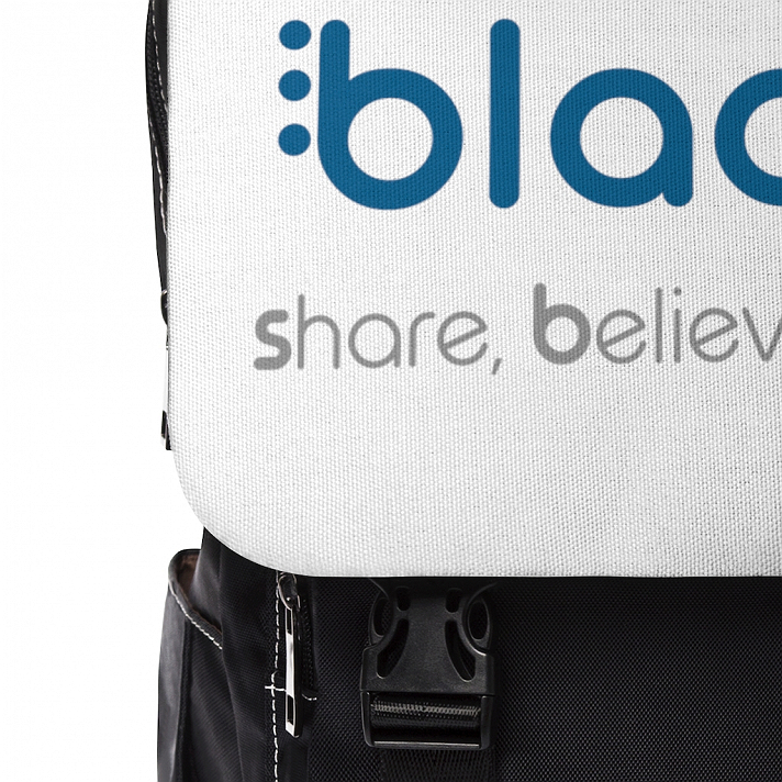 Support Blaqsbi by purchasing this item. The proceeds to this purchase will help us keep the platform running and provide funding for future improvements.Casual backpack in a classic shape with a front flap design. It is made of durable Oxford canvas. It has two slip interior pockets and one laptop sleeve in the main compartment, a front zipper pocket, and two side pockets..: Made of 24.34 oz. Oxford canvas.: Flap with strap claps at the front.: Adjustable shoulder straps.: Black base and inside color