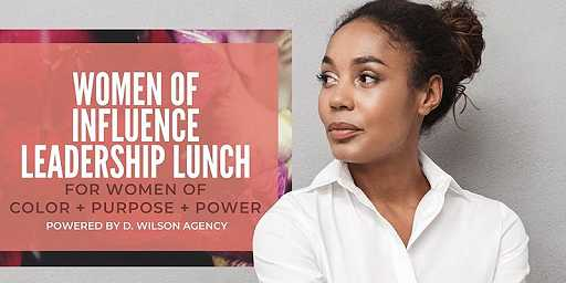 Women of Influence Leadership Lunch - Fall 2019