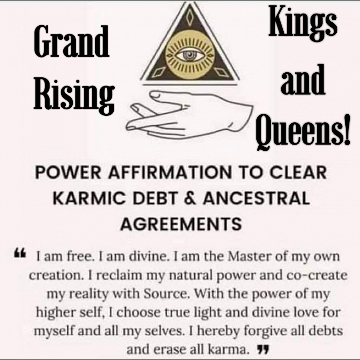 Grand Rising Kings and Queens! 👑❤🖤💚👑
