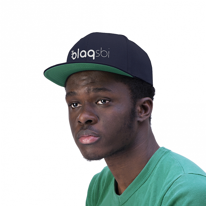 Support Blaqsbi by purchasing this item. The proceeds to this purchase will help us keep the platform running and provide funding for future improvements.This Yupoong 6-panel cap is a modern take on a classic design. This hat is the perfect choice thanks to its sharp styling, spirited color and lively green underbill. The old-school snapback closure and iconic flat bill add a subtle charm that takes you back to the good ol' days..: 80% Acrylic 20% Wool.: Green underbill.: 7-position adjustable snap closure.: Structured and high profile silhouette