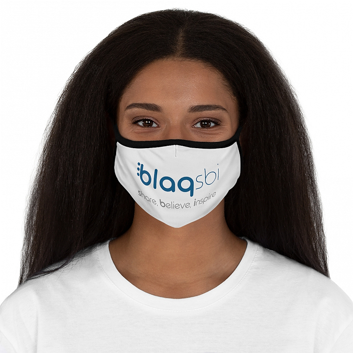 Support Blaqsbi by purchasing this item. The proceeds to this purchase will help us keep the platform running and provide funding for future improvements.Protect yourself and others with a stylish, personalized face mask. Our face masks provide a physical barrier around the face. They are, however, not meant for medical-grade and not meant for medical use. Great for everyday use for overall protection.: 100% Polyester.: Two layers of cloth with a filter pocket between (filter is not included).: Black inner layer and ear loops.: Shaped form.: One size