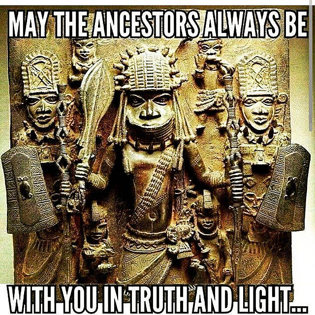May the Ancestors...