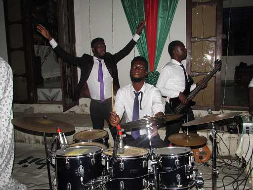 Doing something for God is something i will never regret ...well everyone can call me josh, am a upcoming instrumentalist and am really passionate about drumming. let just say i have been drumming for 8 years for my church ..am not a circular instrumentalist but , you know what , all i can say is if you are doing something, do it and do it well from within ..am still young, am 24 and still trying some other stuffs like IT programs . but i still have plans to upgrade my self in playing instrument to the glorification of Jesus ..contact informationCnt:      +233548504882Email:     joshuatettehsav@gmail.com