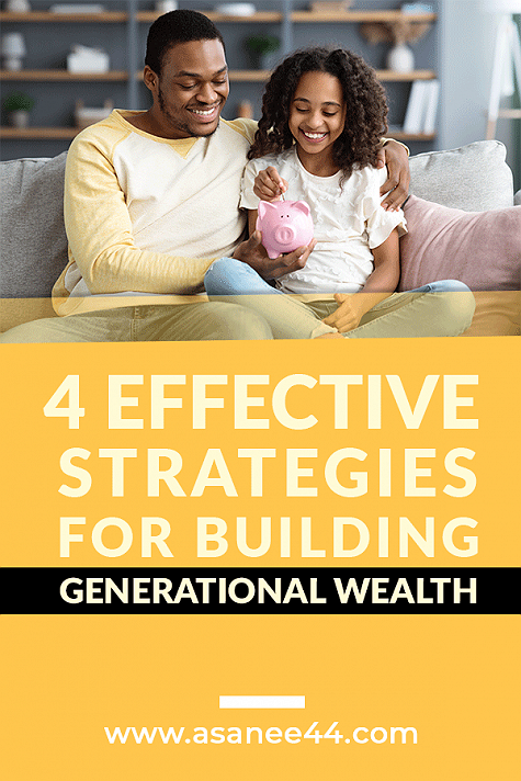 """4 EFFECTIVE STRATEGIES FOR BUILDING GENERATIONAL WEALTHThere are many effective strategies for building generational wealth within your family line. It is important to start early in order to give your children a head start. However, it is never too late to start laying the foundation for your family's financial future.As with any otherinvestmenttool, diversification is key when it comes to building generational wealth. It is important to spread your wealth among several sources to protect it from the adverse effects of inflation, economic crises, and the like. As the say goes, """"don't put all your eggs in one basket"""".Traditional savings are the quickest and easiest way for your family to have liquid funds available to them. Most people are familiar with this tool, which is why I gave it an honorable mention. However, some people are not familiar with other useful tools that are just as effective for building generational wealth as outlined in this post. Read more...#Moneymanagement #generationalwealth"""